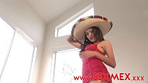 sexy mexican Daysie Marie first scene