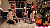 Christmas Creampie From Brother To Sisters!