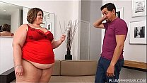 BBW Erin Green Gets Caught Playing With Her Pussy