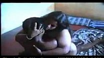 Indian fat wife rides cock