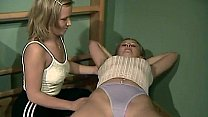 Gymnasium Threesome