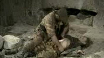 Blonde Forced by army man