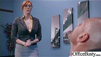 Bokep Seks (Lauren Phillips) Sexy Big Tits Office Girl Love Hard Sex clip-22