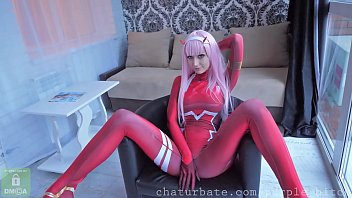 Zero Two loves anal teen Amateur asshole slut