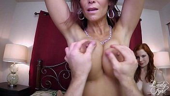 Bokep XXX Mom and Aunt Milk and Fuck my Cock