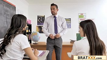 XXX Sexy School-Girl Has Crush On Her Hunky Teacher