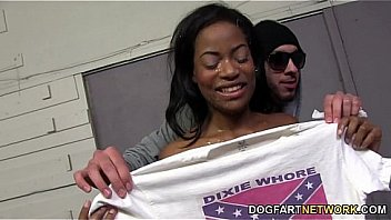 XXX Monique Symone Gets Fucked By A Gang Of White Men