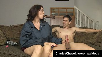Bokep Cigar smoking Milf Charlee Chase puts a long hard shaft in her wet pussy, riding it reverse cowgirl until Charlee gets A Load Of Cum! Full Video & Charlee Chase Live @ CharleeChaseLive.com!