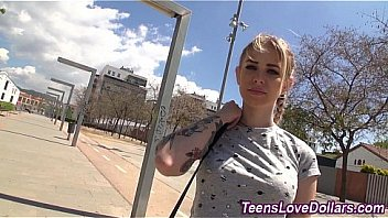 Porno Bokep Amateur teen fuck with guy on the street for money