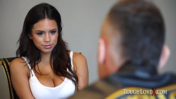 Busty Latina beauty gets used like a filthy whore
