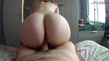 My Step Brother comes to my bed because he can't resist my huge ass!