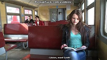 Bokep Girl picked in a train and penetrated in mouth and pussy