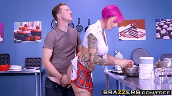 Big tits and with big ass and big pussy getting fucked in school