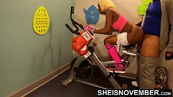 Porno 4k Deep Anal For Hot Black Girl On Gym Bike , Msnovember Getting Butt Fucked By Old Man Boxing Coach Getting Her Booty Fit With Unusual Training , Screaming From Pain Getting Pounding With Hardcore Dick From Behind HD Sheisnovember