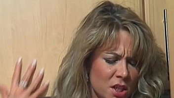 Bokep Amateur blonde Milf sucks and fucks in the kitchen