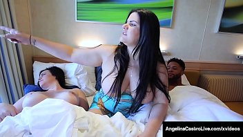 Bokep Curvy Cuban BBW, Angelina Castro, finger bangs her thick vagina while plump Virgo Peridot, milks a big black cock - all on a Love Boat! Full Video & Angelina Live @ AngelinaCastroLive.com!
