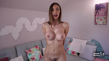 POV Blowjob From Teen With Big Tits - Controlled Orgasm With Lovense Lush