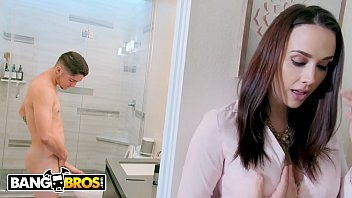 BANGBROS - Young Step Son All Up In MILF Chanel Preston's Pussy