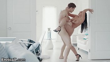 Romantic Hardcore Sex for Naturally Busty Aussie, ANGELA WHITE