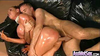 Deep Anal Bang On Cam With Big Round Butt Oiled Girl (nikki benz) vid-22