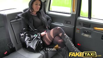 Bokep Fake Taxi Local escort fucks taxi man on her way to a client