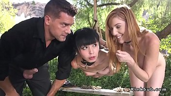 Tied up and hanTied up and hanged on a tree outdoor Asian cuttie Marica Hase gets fucked by nasty coupleged on a tree outdoor Asian cuttie Marica Hase gets fucked by nasty couple