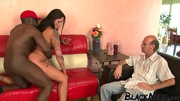 Cuckold Watching His Wife Getting Banged!