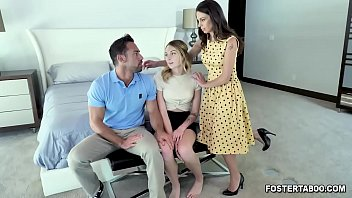 Charlotte Sins gets a welcome family threesome