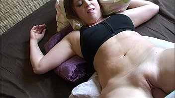 Horny stepbrother has sex with stepsister in her bedroom