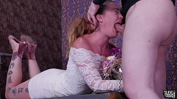 Rough facefucking and degrading treatment for big-ass babe Kat Monroe