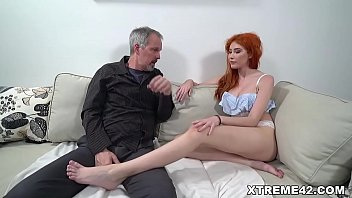 Bokep Dirty grandpa Michael is looking for Svetlana but she is not home....
