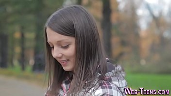 tight pants teen gets fingered
