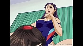 Sexy Hentai Lesbians having a fun time with their pussies
