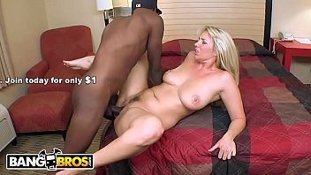BANGBROS - Jordan Kingsley Taking Big Black Cock From Virile Stud