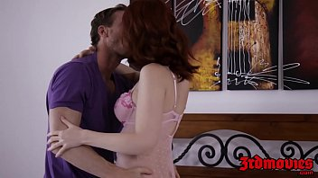 Redhead facialized after orgasmic riding