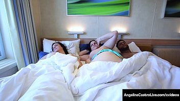 Phat Ass Babe Angelina Castro creams her curvy Cuban cunt while big babe Virgo Peridot slobbers on a big black cock, as everyone sails on a cruise! Full Video & Angelina Live @ AngelinaCastroLive.com!