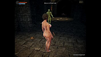 The Last Barbarian - ryona - 3d hentai monster