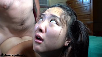 Bokep 4K asian girl begs for assfucking and @andregotbars delivers