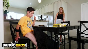 BANGBROS - Maya Bijou Unknowingly Cams With Her Step Brother JECL