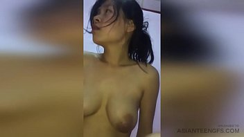 Real amateur sex tape with mature Asian wife having sex