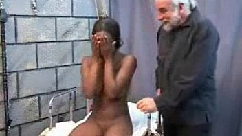 sexy black girl fucked by old fat man