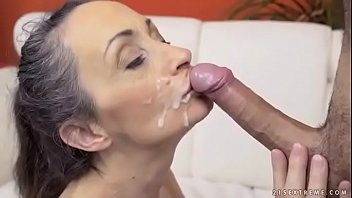 Skinny Mature Housewife Needs a Young Cock
