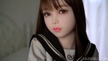 Bokep Sexy Cute Japanese girl sex doll with school uniform