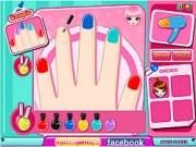 cutie nail salon game - play online