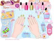 nail art salon game - play online