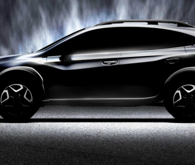Subaru Has Revealed A Teaser Image Showing Its New Xv Compact Crossover Due To Make An Appearance At The Upcoming  Geneva Motor Show