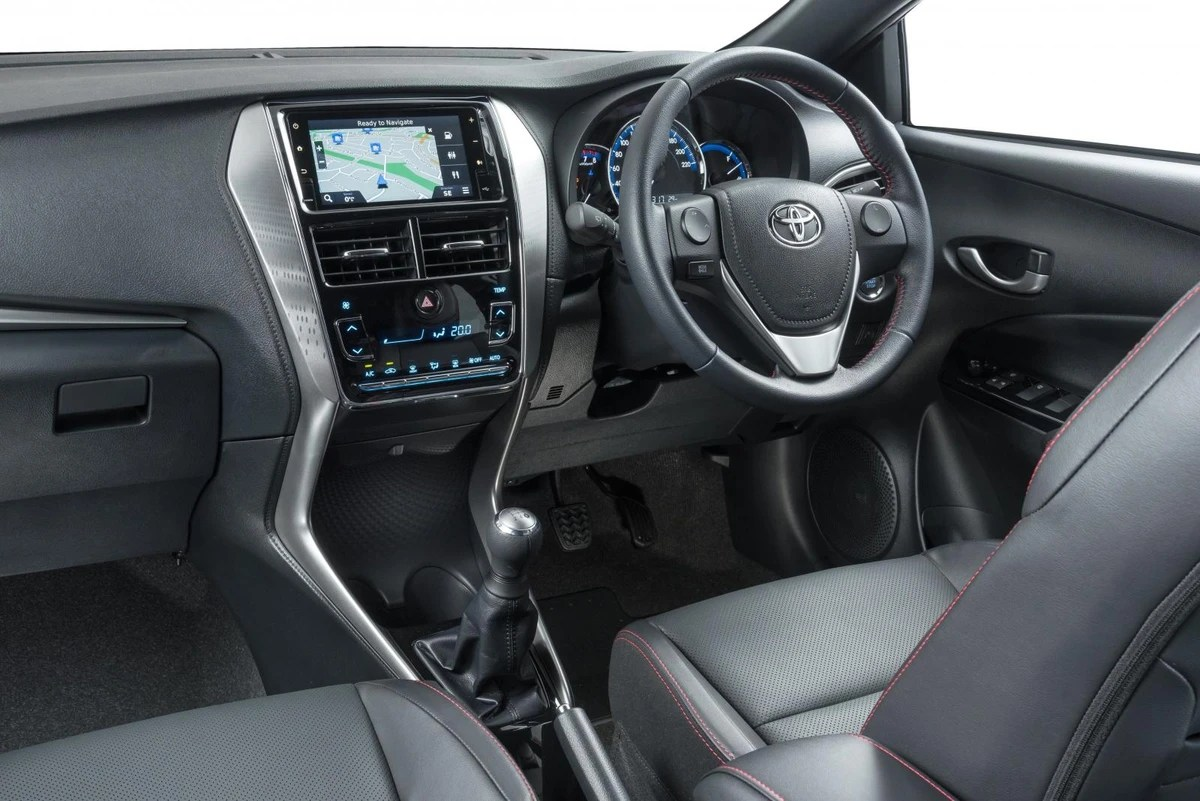 interior new yaris trd 2018 perbedaan tipe all kijang innova toyota launch review cars co za a sourced from thailand has been launched in south africa it s bigger and importantly more distinctive than its predecessor