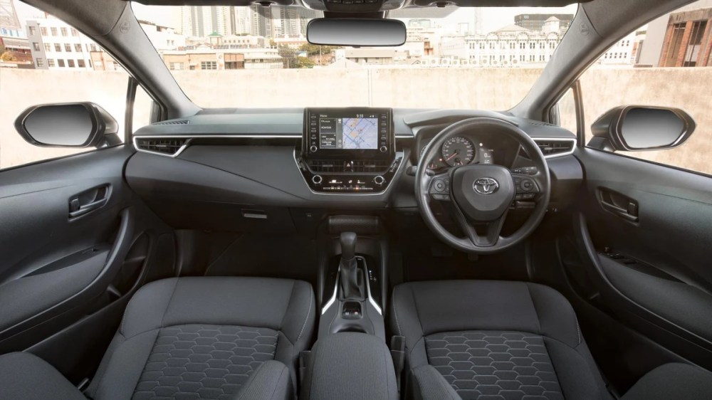 medium resolution of the eagerly anticipated new toyota corolla hatch back will be launched in south africa in early 2019 with its eye catching styling and sophisticated
