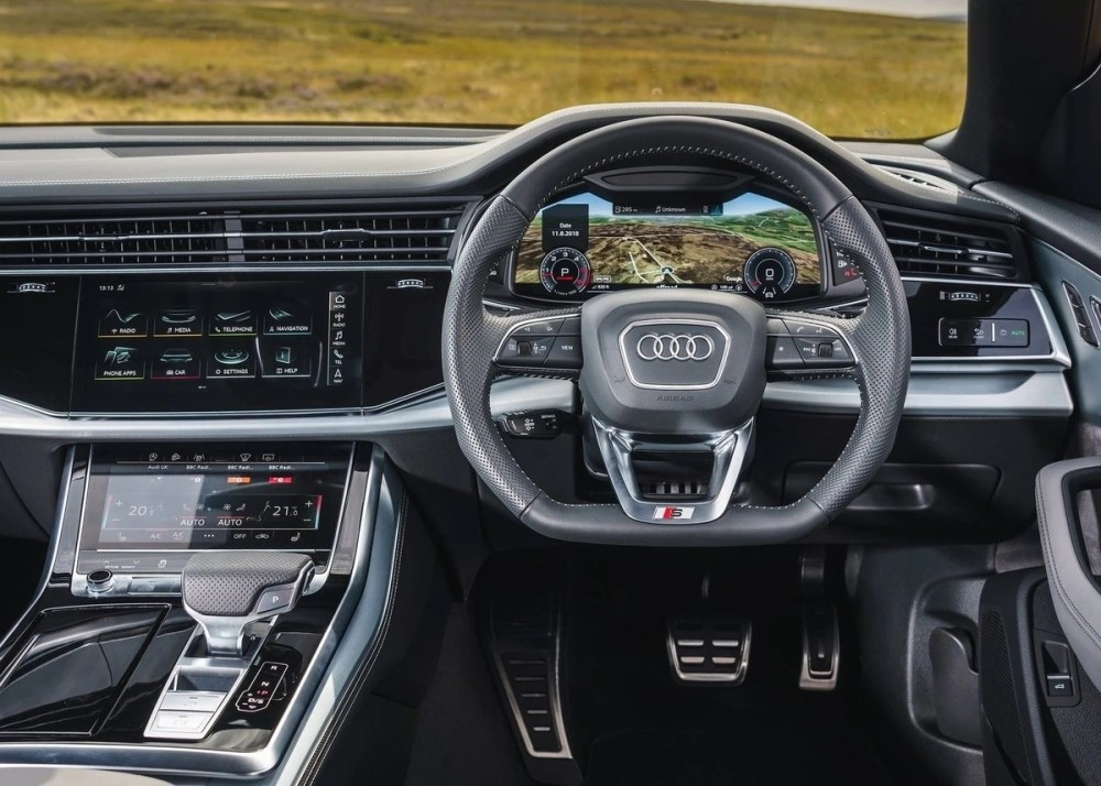 medium resolution of audi south africa has finally introduced the q8 to our shores available immediately with a turbopetrol engine with a turbodiesel to follow the audi q8 is