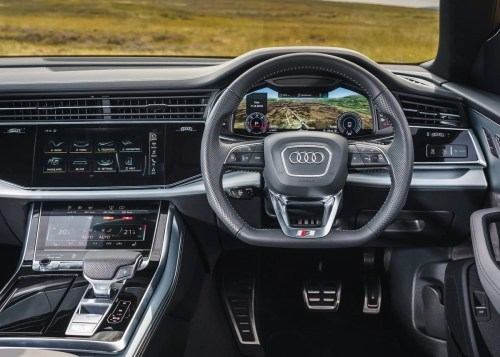 small resolution of audi south africa has finally introduced the q8 to our shores available immediately with a turbopetrol engine with a turbodiesel to follow the audi q8 is